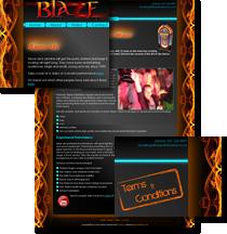 blaze the band