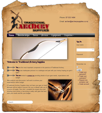 traditional archery supplies